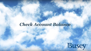 Check Account Balance