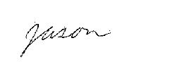 Jason Lackner signature