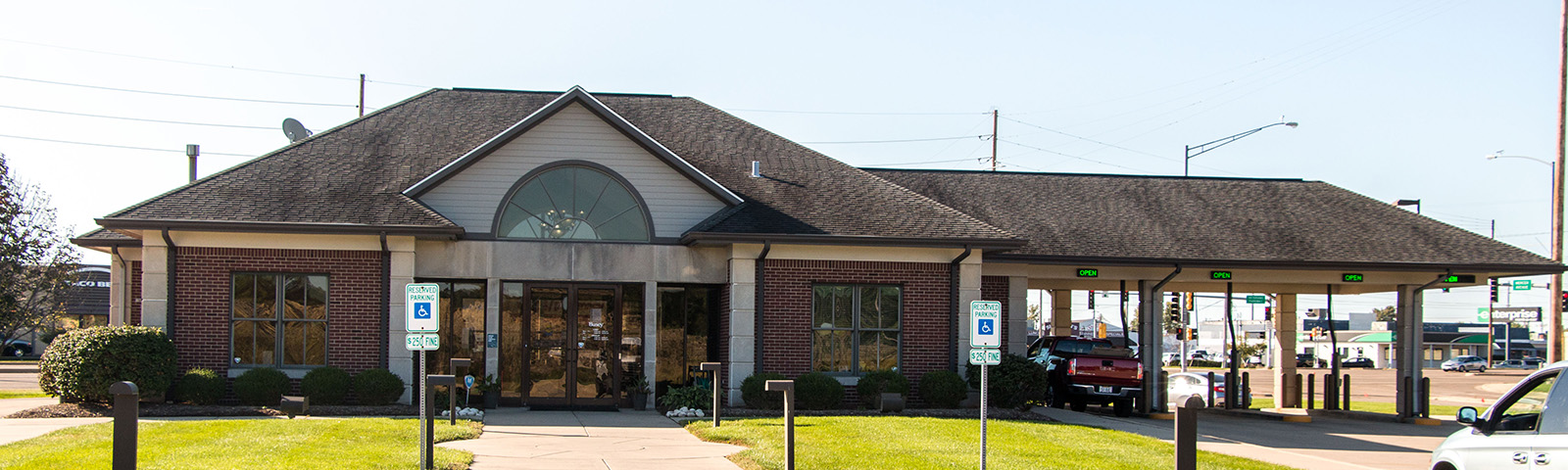Busey Bank Bloomington South Veterans location