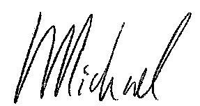 Michael Green signature