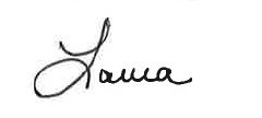 Laura Dunton Signature