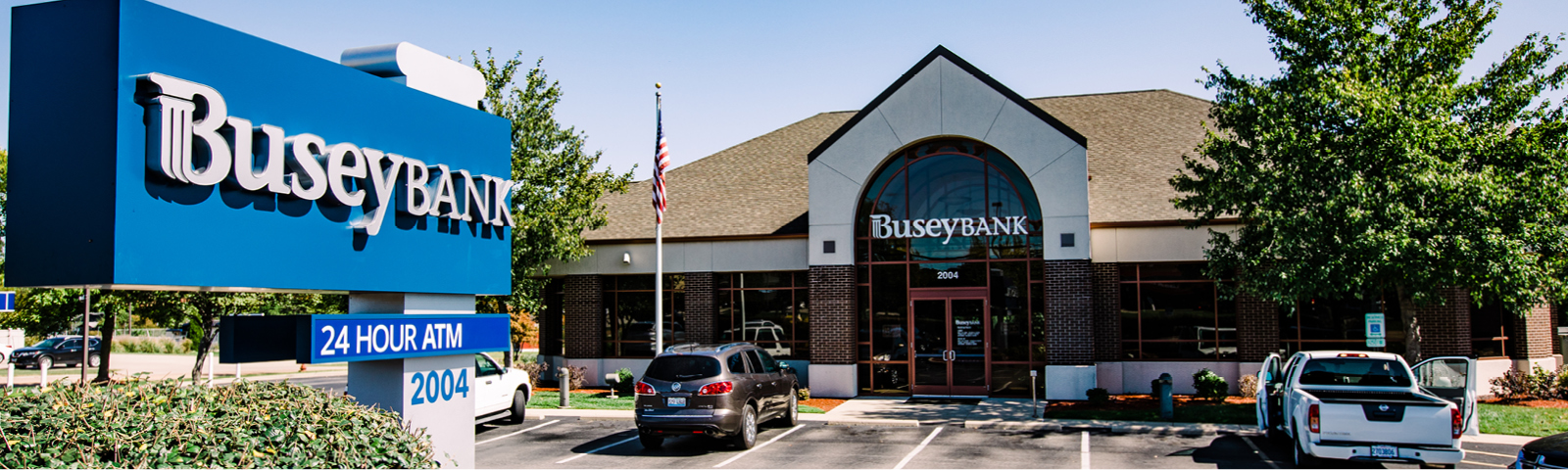 Busey Bank Edwardville Troy Road location